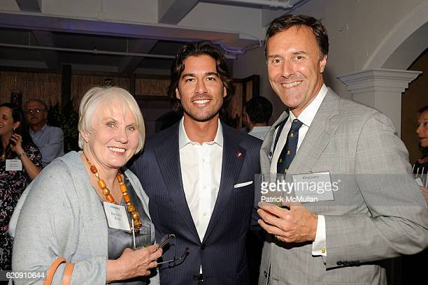 Mary Ann Bruni Josh Bernstein and Rob Jutson attend INTO THE UNKNOWN with JOSH BERNSTEIN Party hosted by DISCOVERY CHANNEL at Westside Loft on August...