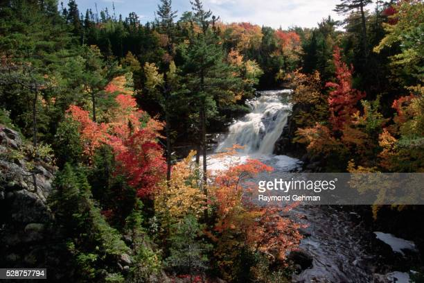 mary ann falls - cape breton island stock pictures, royalty-free photos & images