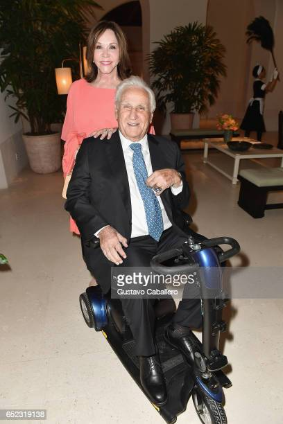 Mary Anne and Don Shula attend the Four Seasons Hotel at The Surf Club Grand Opening on March 11 2017 in Surfside Florida
