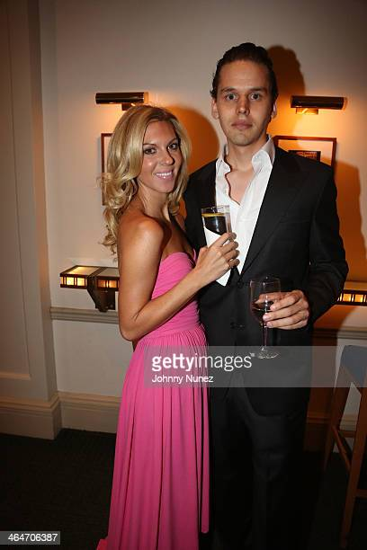 Mary Anne Huntsman and Gustavo Sapoznik attend at Carnegie Hall on January 23 2014 in New York City