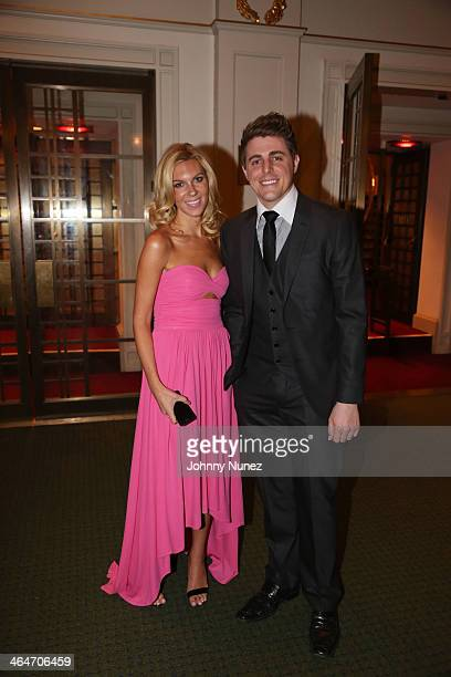 Mary Anne Huntsman and Josh Wright attend at Carnegie Hall on January 23, 2014 in New York City.