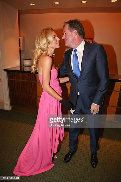 Mary Anne Huntsman and Piers Morgan attend at Carnegie Hall on January 23, 2014 in New York City.