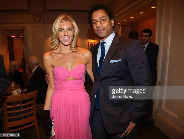 Mary Anne Huntsman and Toure attend at Carnegie Hall on January 23, 2014 in New York City.