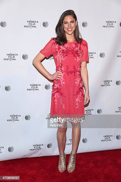 Mary Anne Huntsman attends All Eyes And Ears Premiere during the 2015 Tribeca Film Festival at Chelsea Bow Tie Cinemas on April 23 2015 in New York...