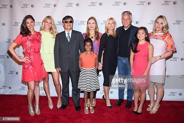 Mary Anne Huntsman Elizabeth Huntsman Chen Guangcheng Asha Huntsman director Vanessa Hope Mary Kaye Huntsman John Huntsman Gracie Huntsman and Liddy...