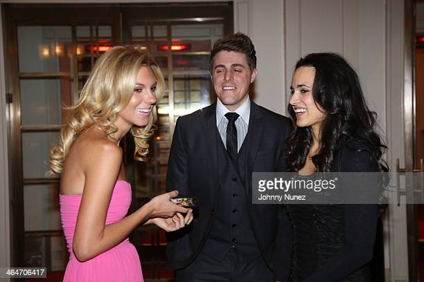 Mary Anne Huntsman, Josh Wright and Lindsey Wright attend at Carnegie Hall on January 23, 2014 in New York City.