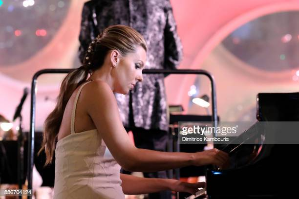 Mary Anne Huntsman performs onstage during Chrome Hearts & Baccarat celebrate The Miami Design District with Jesse Jo Stark, Mary Anne Huntsman & The...