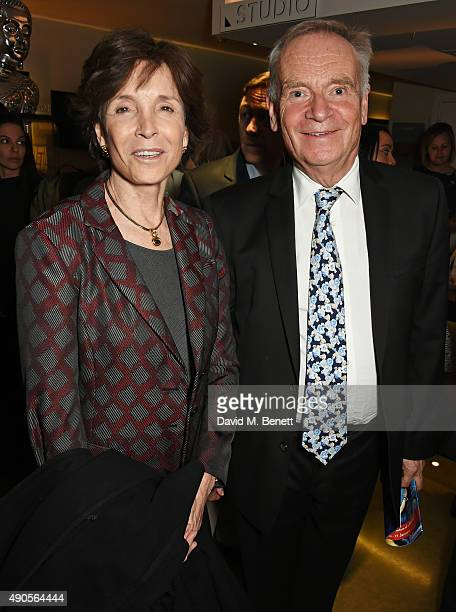 Mary Archer and Jeffrey Archer attend the press night of Pure Imagination The Songs of Leslie Bricusse at the St James Theatre on September 29 2015...
