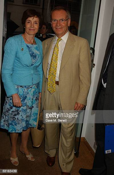 Mary Archer and Lord Jeffrey Archer attend The Sixties Set An Inside View By Robin DouglasHome at the Air Gallery June 28 2005 in London England The...
