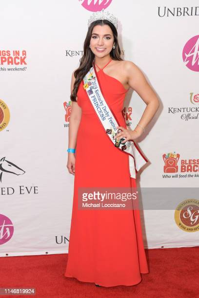 Mary Baker attends the 145th Kentucky Derby Unbridled Eve Gala at The Galt House Hotel Suites Grand Ballroom on May 03 2019 in Louisville Kentucky