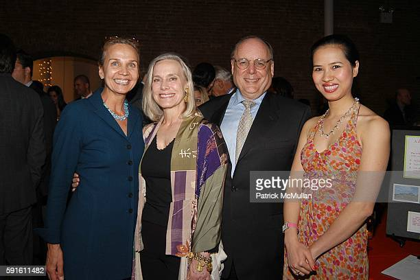 Mary Balaban Rebecca Sullivan Stephen Greenwald and Chosan Nguyen attend The 2005 Annual ACE Award Dinner at The Puck Building on June 1 2005 in New...
