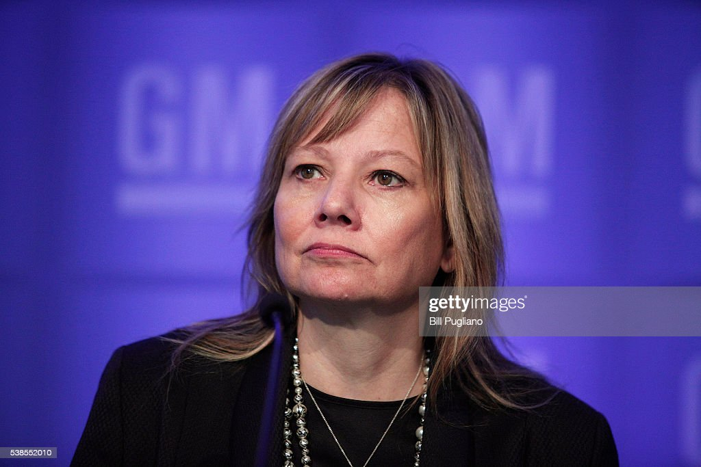 GM Holds Annual Shareholders Meeting In Detroit : News Photo