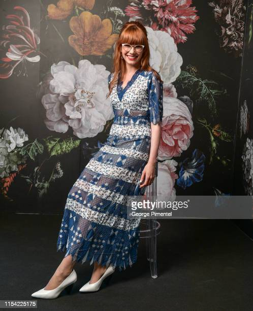 Mary Berg poses at the CTV Upfront Portrait Studio at Sony Centre For Performing Arts on June 06, 2019 in Toronto, Canada.