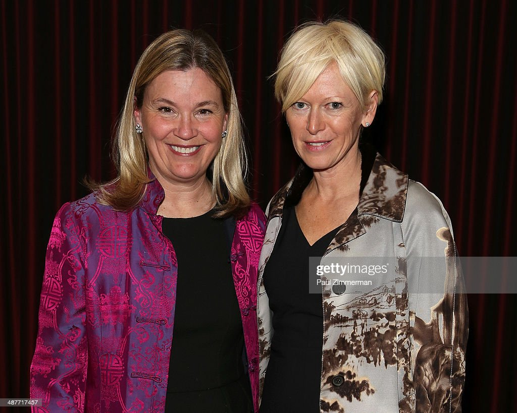 Mary Berner, President of The Association of Magazine Media and Joanna Coles Editor In Chief of Cosmopolitan attend the 2014 National Magazine Awards at The New York Marriott Marquis on May 1, 2014 in New York City.
