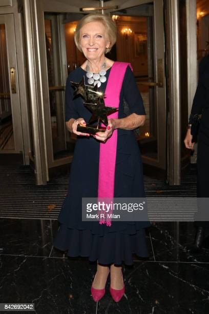 Mary Berry attending the TV choice awards on September 4 2017 in London England