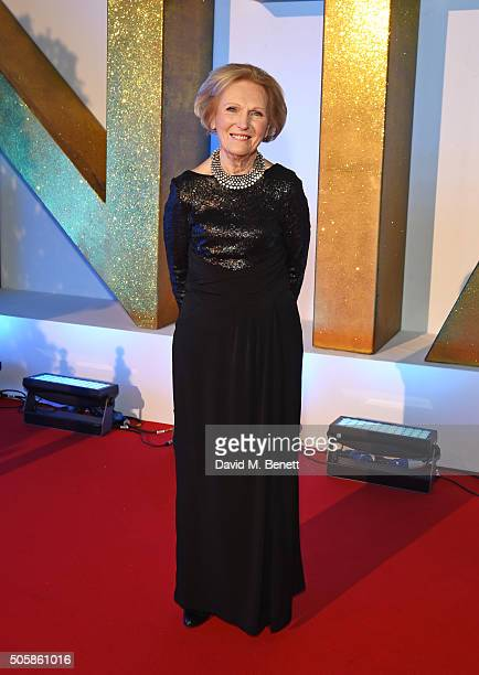 Mary Berry attends the 21st National Television Awards at The O2 Arena on January 20 2016 in London England