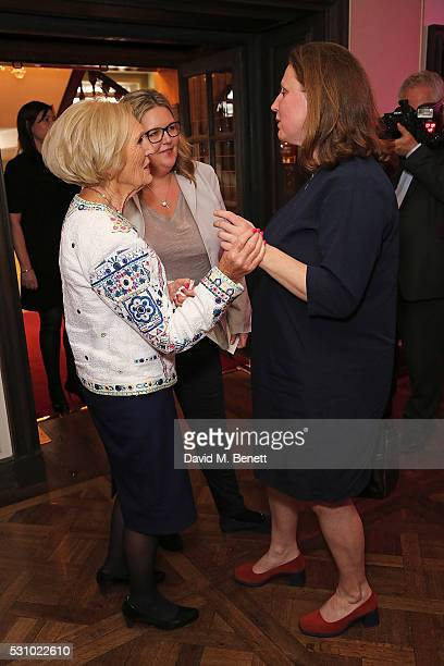 Mary Berry guest and Angela Hartnett at the fourth annual Fortnum Mason Food and Drink AwardsHosted by Claudia Winklemanthe awards celebrate the best...