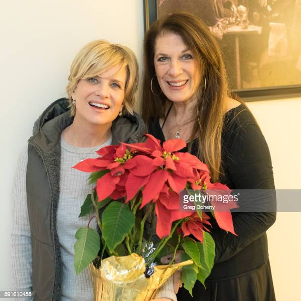 Mary Beth Evans and Wendy Riche attend The Bay Ugly Sweater And Secret Santa Christmas Party at Private Residence on December 12 2017 in Los Angeles...