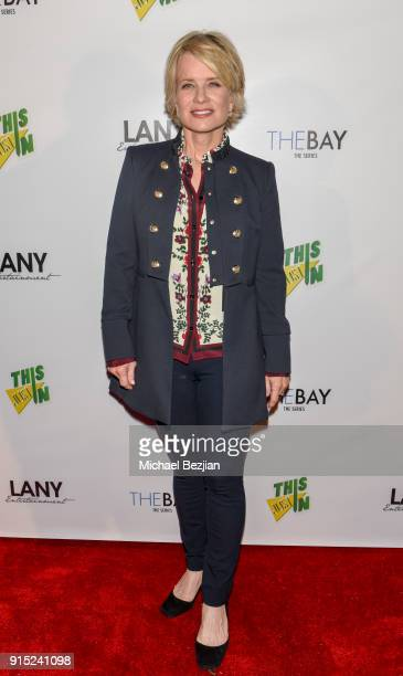 Mary Beth Evans arrives at 7th Annual LANY Entertainment Mixer at 33 Taps Hollywood on February 6 2018 in Los Angeles California