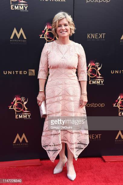 Mary Beth Evans attends the 46th annual Daytime Emmy Awards at Pasadena Civic Center on May 05 2019 in Pasadena California