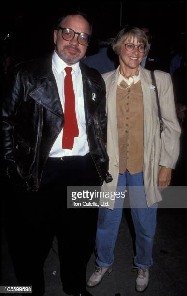 Mary Beth Hurt and husband during Light Sleeper New York City Screening at Cinema 1 in New York City New York United States