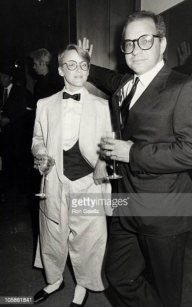 Mary Beth Hurt and Paul Schrader during 20th Anniversary Celebration of NYU's Tisch School of the Arts Awards Ceremony in New York City New York...