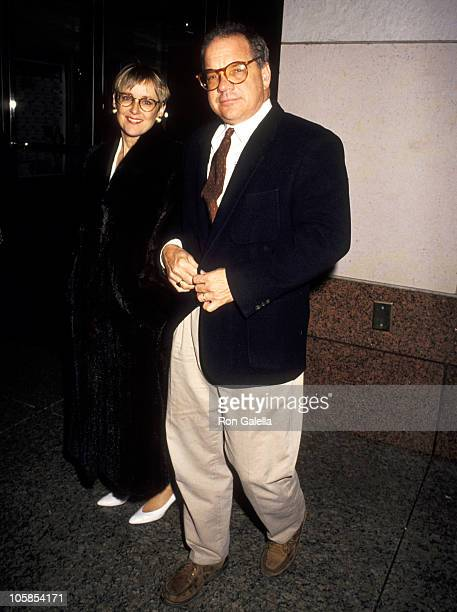 Mary Beth Hurt and Paul Schrader during Suddenly Last Summer Benefit Screening For AmFAR at Walter Reade Theater in New York City New York United...