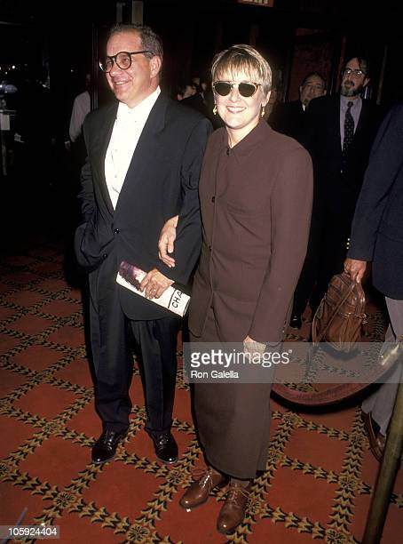 Mary Beth Hurt and Paul Schrader during The Age of Innocence New York City Premiere at Ziegfeld Theater in New York City New York United States