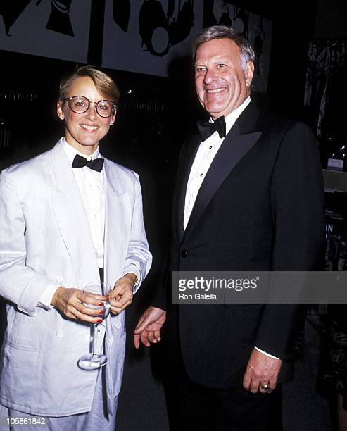Mary Beth Hurt and Robert Tisch during 20th Anniversary Celebration of NYU's Tisch School of the Arts Awards Ceremony in New York City New York...
