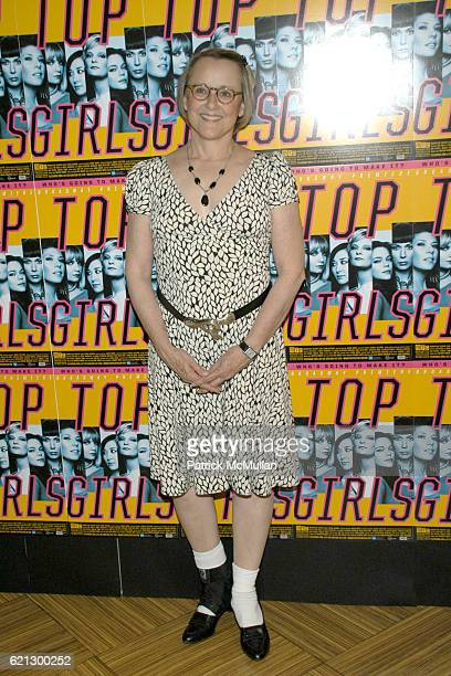 """Mary Beth Hurt attends """"TOP GIRLS"""" Broadway Opening After Party at Hard Rock Cafe on May 7, 2008 in New York City."""