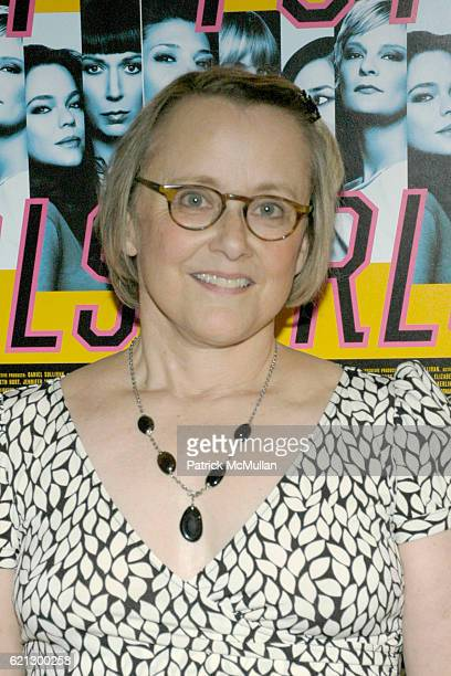 Mary Beth Hurt attends TOP GIRLS Broadway Opening After Party at Hard Rock Cafe on May 7 2008 in New York City