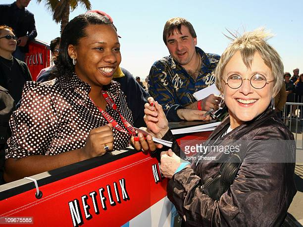 Mary Beth Hurt during Netflix Bleachers at the 2007 Film Independent's Spirit Awards at Santa Monica Pier in Santa Monica California United States
