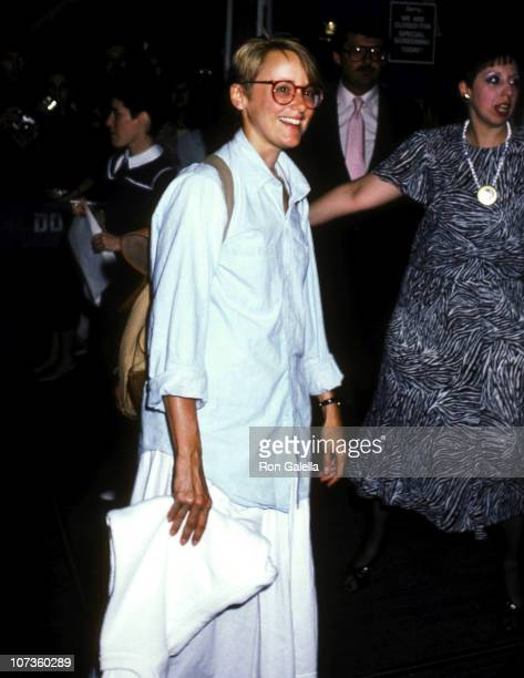 Mary Beth Hurt during Premiere of Heartburn at Lowe's Tower East in New York City New York United States
