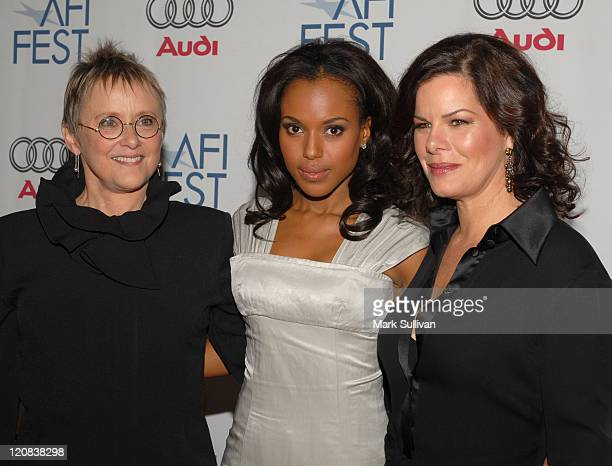 Mary Beth Hurt Kerry Washington and Marcia Gay Harden