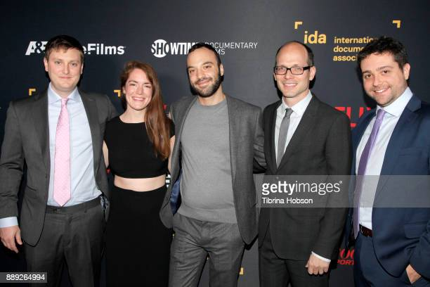 Mary Beth Minthorn Jacob LaMendola Jason SpingarnKoff and Milos Silber at the 33rd Annual IDA Documentary Awards at Paramount Theatre on December 9...