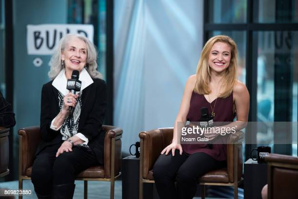 Mary Beth Peil and Christy Altomare visit Build series to discuss 'Anastasia' at Build Studio on November 3 2017 in New York City