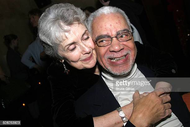 Mary Beth Peil and Earle Hyman during Atlantic Theater Company Presents Harold Pinter's Celebration & The Room Broadway Opening Night at Earth in New...