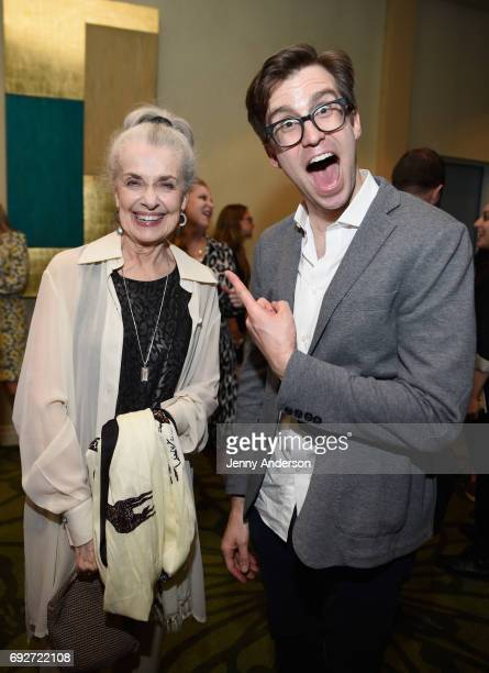 Mary Beth Peil and Gavin Creel attend the Tony Honors Cocktail Party Presenting The 2017 Tony Honors For Excellence In The Theatre And Honoring The...