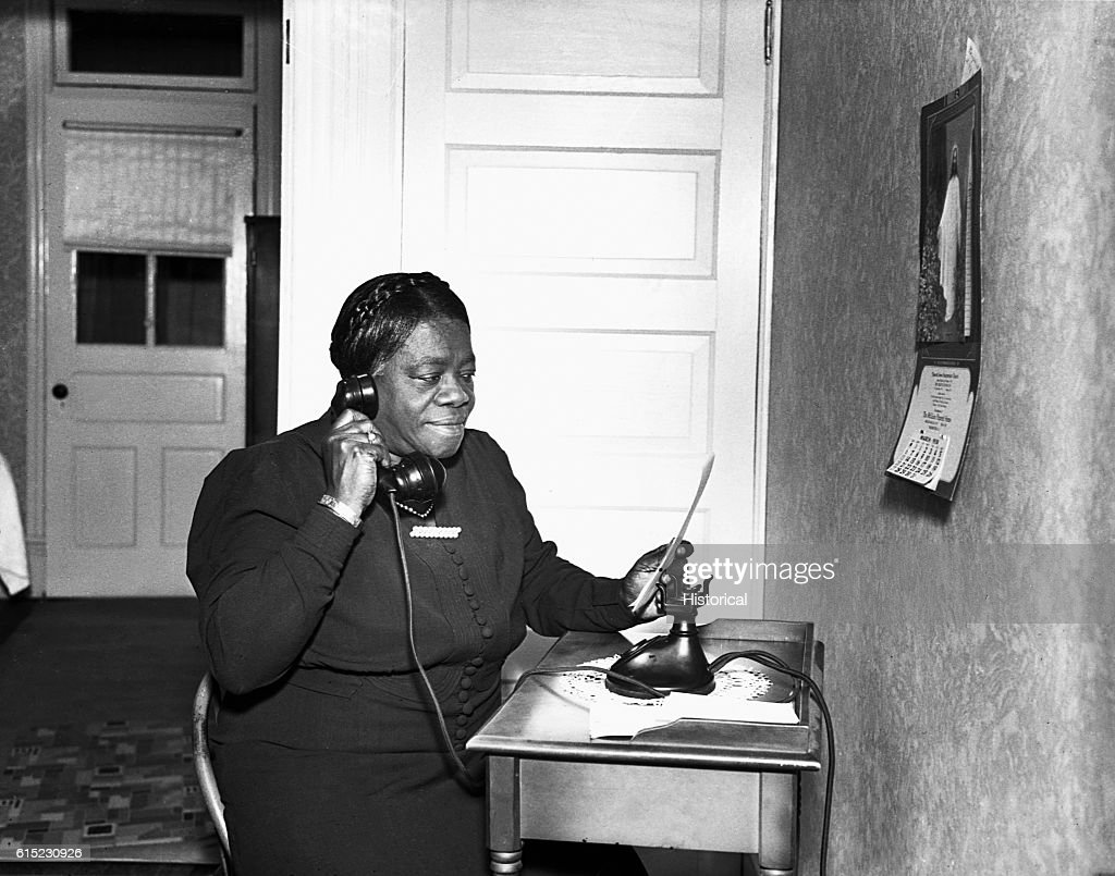 Mary Bethune : News Photo
