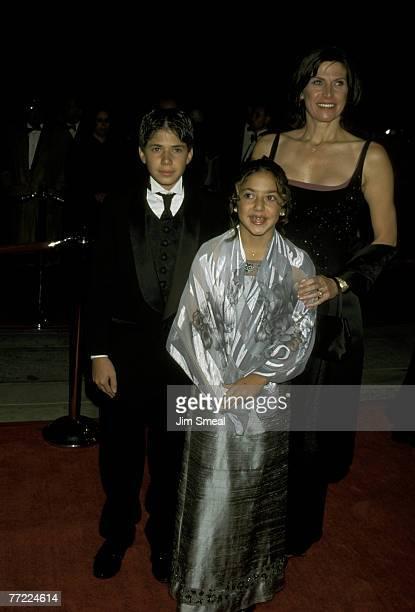 Mary Bono Son Chesare Elan and daughter Chianna Maria