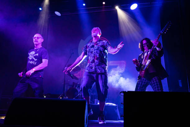 GBR: Pop Will Eat Itself Perform At Islington Assembly Hall