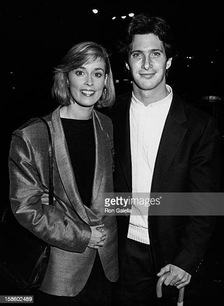 """Mary Cadorette attends the screening of """"Johnny Dangerously"""" on December 18, 1984 at the Egyptian Theater in Hollywood, California."""