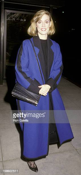 """Mary Cadorette attends the screening of """"Turk 182"""" on February 11, 1985 at the Academy Theatr in Beverly Hills, California."""