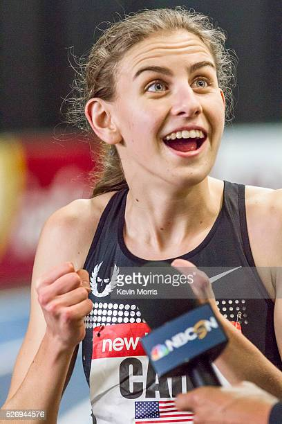 Mary Cain high schooler from Bronxville NY wins womens 1000 meters