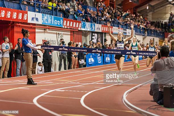 Mary Cain of Nike Oregon Project wins Wanamaker Mile at The Millrose Games