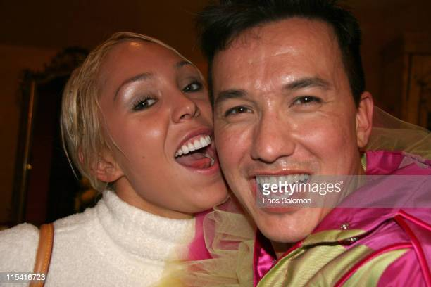 Mary Carey and Bobby Trendy during Porta Bella Grand Opening Party Sponsored by Spago at Porta Bella in Beverly Hills, California, United States.