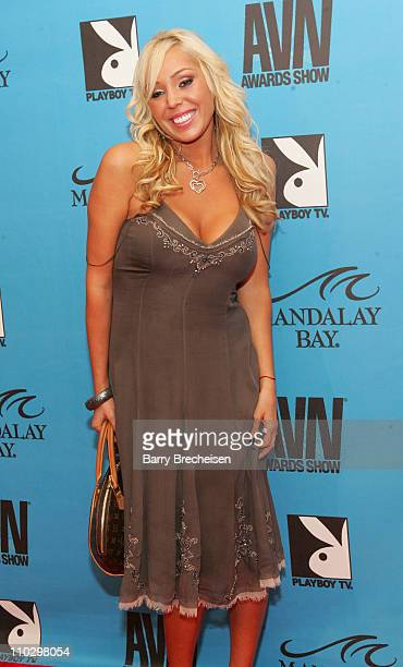 Mary Carey during 2007 AVN Awards Show Red Carpet at Mandalay Bay in Las Vegas Nevada United States