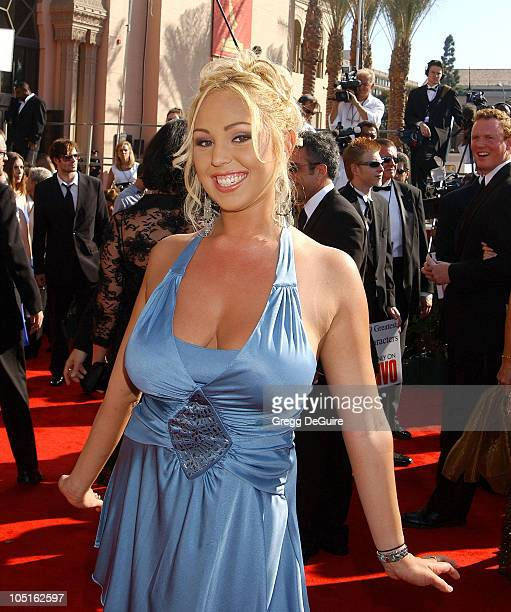 Mary Carey during 55th Annual Primetime Emmy Awards Arrivals/DeGuire at The Shrine Auditorium in Los Angeles California United States