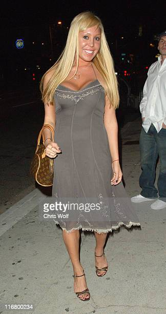 Mary Carey during Celebrity Sightings at Koi - March 13, 2007 at Koi in West Hollywood, California, United States.