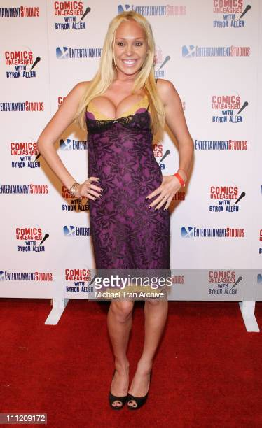Mary Carey during Comics Unleashed Television Premiere Party at Sunset Gower Studios Stage 9 in Hollywood California United States